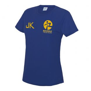 Rochdale Tri Club Ladies Cool Tshirt